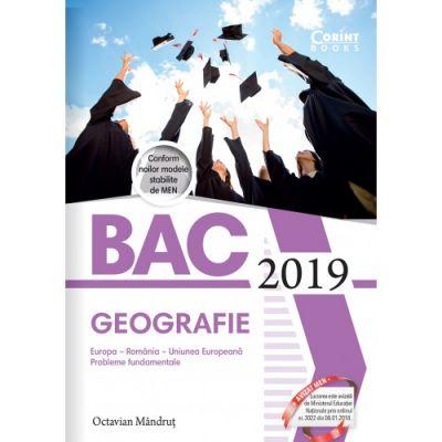 Bacalaureat 2019 - Geografie