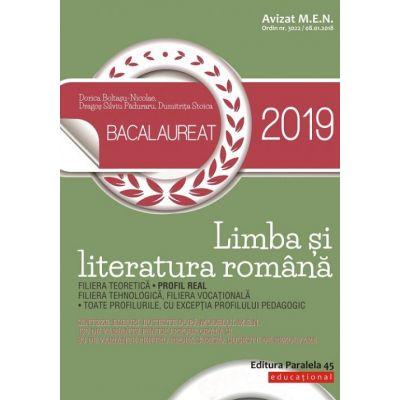 Bacalaureat 2019. Limba și literatura română. Profil real