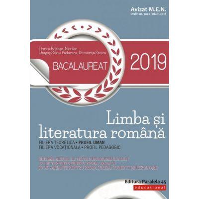 Bacalaureat 2019. Limba și literatura română. Profil uman