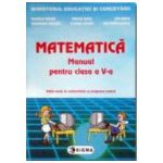 Matematica. Manual pentru clasa a V-a. Mihaela Singer