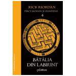 Percy Jackson şi Olimpienii (4). Bătălia din Labirint