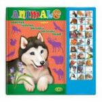 Carte cu sunete - Animale (romana + engleza)