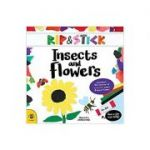 Rip & Stick Insects and Flowers Paperback – Picture Book