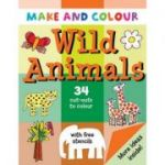Make & Colour Wild Animals