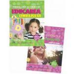 Set de 2 caiete pentru gradinita NIVEL II (5-6 ani). Activitate matematica si cunoasterea mediului si Educarea limbajului, Editia 2021 - Tabarca, Mirela