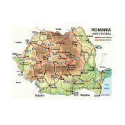 Harta Romaniei Rutiera