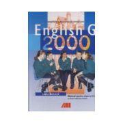 Limba engleza L2. Manual pentru clasa a V-a. English G 2000