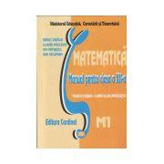 Matematica M1 - manual pentru clasa a XII-a (trunchi comun si curriculum diferentiat, 4 ore)
