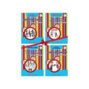 Comorile din gradinita - set 4 carti pentru grupa mare