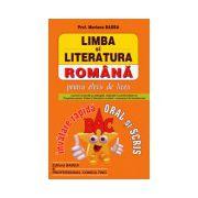 Limba si literatura romana - BAC - invatare rapida