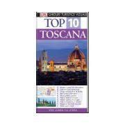 Top 10. TOSCANA Ghid turistic vizual