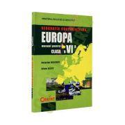 Geografia continentelor-Europa. Manual pentru clasa a VI-a. Corint