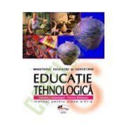 Educatie Tehnologica - Manual pentru clasa a VI-a