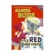 Povesti bilingve (romana-engleza): Scufita Rosie