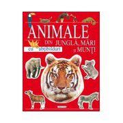 Animale din jungla, mari si munti cu abtibilduri