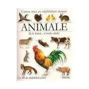 Cartea mea cu abtibilduri despre animale de la ferma si multe altele