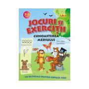 Jocuri si exercitii - Cunoasterea mediului 3-5 ani