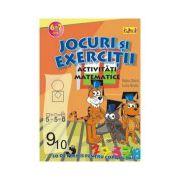Jocuri si exercitii - Activitati matematice 6-7 ani