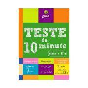 Teste de 10 minute clasa a II a