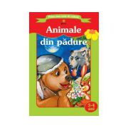 Prima mea carte de colorat - Animale din padure