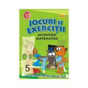 Jocuri si exercitii - Activitati matematice 5-6 ani