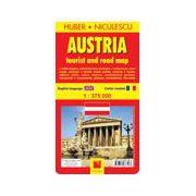 Austria - harta turistica si rutiera