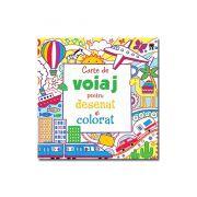 Carte de voiaj pentru desenat si colorat