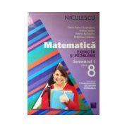 Matematica clasa a VIII-a, exercitii si probleme - semestrul 1