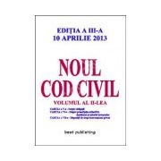 Noul cod civil volumul 2