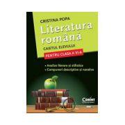 Literatura Romana - Caietul elevului pentru clasa a VI-a