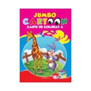JUMBO CARTOON CARTE DE COLORAT 6