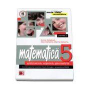 Mate 2000 CONSOLIDARE 2014-2015 aritmetica, algebra, geometrie clasa a V-a partea I