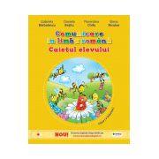 Comunicare în limba română. Caietul elevului pentru clasa I (vol. I)