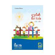 English for kids - caiet de lucru pentru clasa intai
