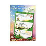 Calendar de primăvară - clasa a II-a