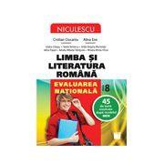 Limba şi literatura română. Evaluarea naţională. 45 de teste rezolvate după modelul MEN
