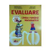 Evaluare limba romana, matematica clasa a III-a