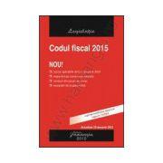 Codul fiscal 2015 - actualizat 29 ianuarie 2015
