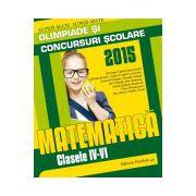 MATEMATICA. OLIMPIADE SI CONCURSURI SCOLARE 2015. CLASELE IV-VI