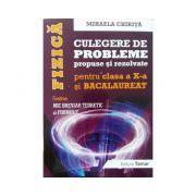 Fizica BACALAUREAT, culegere de probleme propuse si rezolvate pentru clasa a X-a