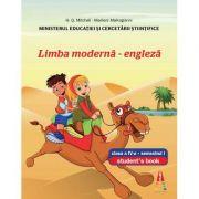 Limba moderna engleza clasa a IV-a semestrul I + semestrul II (Set) - Contine editia digitala (Smart Junior 4)