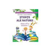 Stiinte ale naturii . Manual pentru clasa a IV-a (sem I+sem II, contine editie digitala)