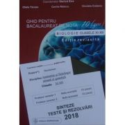 Bacalaureat biologie 2018 clasele XI-XII. Sinteze teste si rezolvari - Ghid pentru bacalaureat de nota 10 Editie revizuita Gimnasium
