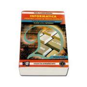 Informatica pentru liceu si bacalaureat. Profilul Matematica-Informatica clasa a X-a, Intensiv varianta Pascal (Pavel Florin Moraru)
