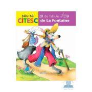 Stiu sa citesc - 20 de fabule de La Fontaine