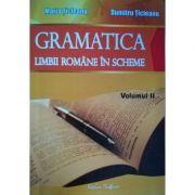 Gramatica limbii romane in scheme. Volumul II