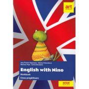 Clasa pregătitoare. LIMBA ENGLEZĂ. English with Nino. Workbook (Caietul elevului)