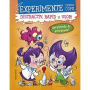 Experimente pentru copii – distractiv, rapid şi uşor, vol 1- portocaliu
