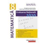Matematică. Evaluare Naţională 2020. Clasa a VIII-a