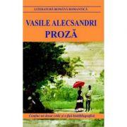 Proza - Vasile Alecsandri